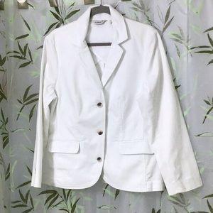 SALE😍 NWOT LLBean Cotton Jean Jacket.    Lg.